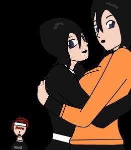 bleach blush hug