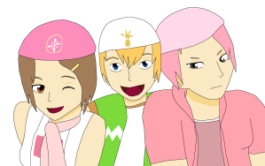 Request - TK, Kari, and Aelita