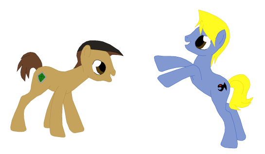 Tristan And Joey MLP Style.png