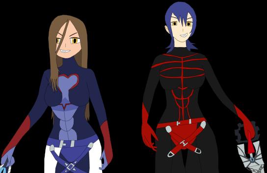 Evil Aqua and Evil OC